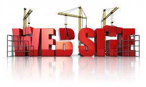 constructing a website
