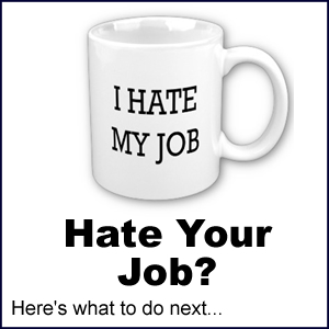 I hate my job | Hate your job?