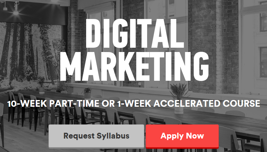 Digital Marketing 10 week program