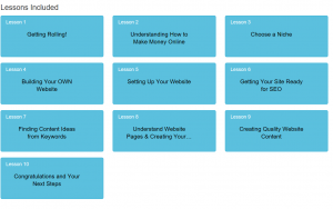 First 10 Lessons Included In Free Membership