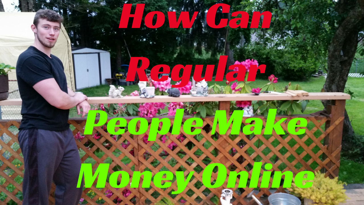 How Can Regular People Make Money Online