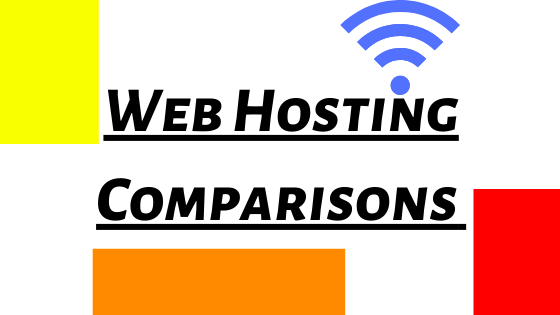 Web Hosting Comparasions